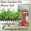 RAIN GARDEN KIT - WET SOIL